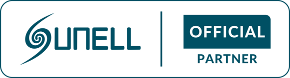 Лейбл Sunell official partner logo-Q